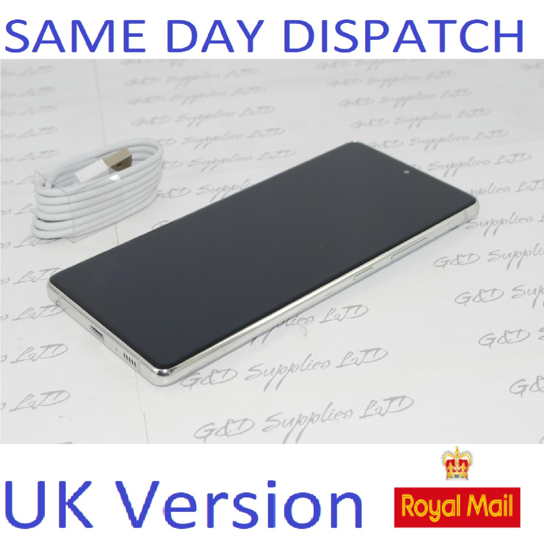 Samsung S10 Lite SM-G770F/DS 128GB 8GB Ram  white Dual Sim UNLOCKED  UK Version NO BOX