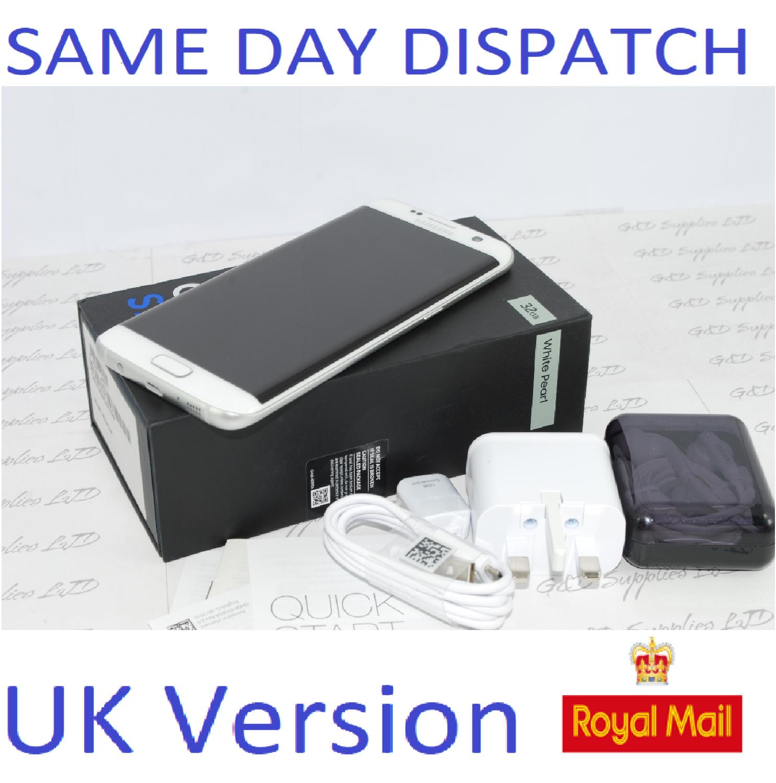 Samsung Galaxy S7 32GB  Edge G935F Unlocked SIM Free Smartphone White UK