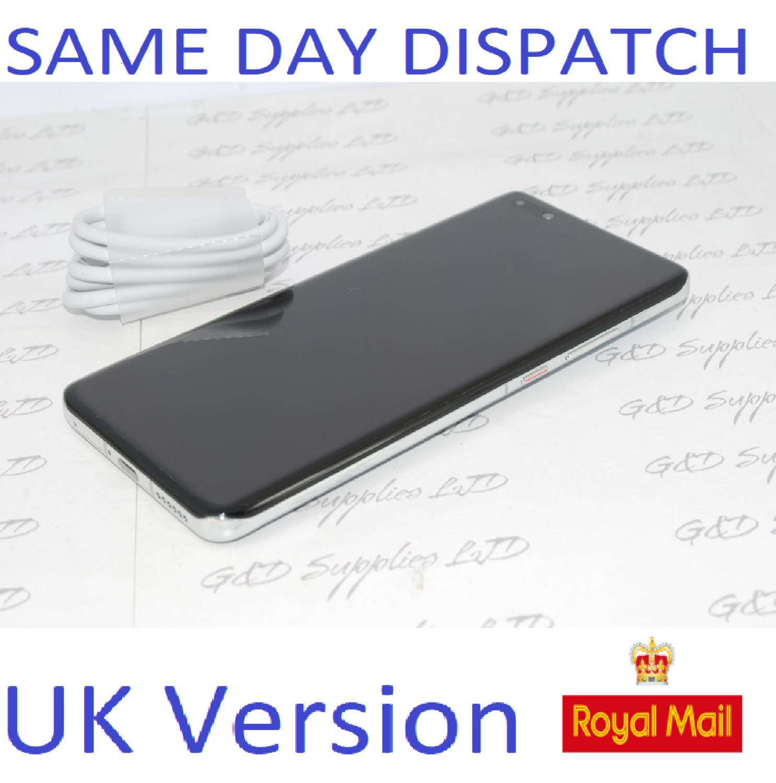 Huawei P40 Pro 5G 256GB 8GB RAM Silver   Dual Sim UNLOCKED UK Version NO BOX
