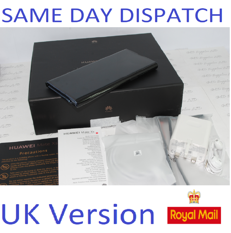 Huawei Mate XS Foldable 8GB 512GB Dual SIM Factory Unlocked 5G UK Version #