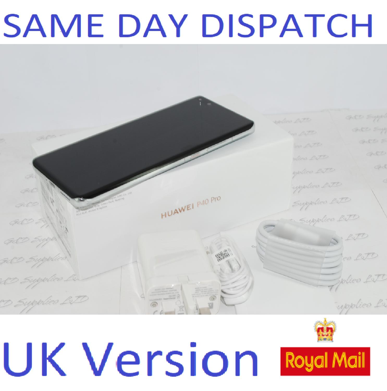 NEW Huawei P40 Pro 5G 256GB 8GB RAM Silver   Dual Sim UNLOCKED UK Version
