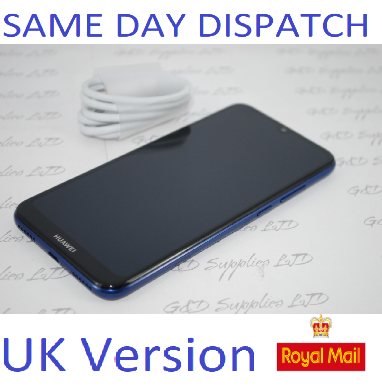 HUAWEI Y6S JTA-L41 UNLOCK DUAL SIM BLUE 32GB 3GB RAM 4G LTE 2020  UK Version NO BOX
