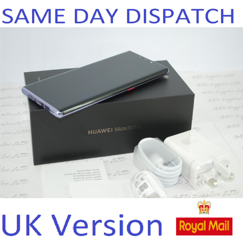 NEW Huawei Mate 30 Pro 8GB 256GB  Space Silver  Dual Sim UNLOCKED UK Version