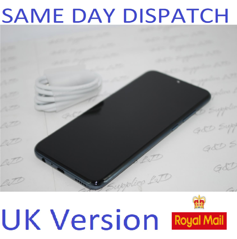# Huawei Honor 20 Lite Black 128GB Dual Sim 4G Android UNLOCKED NFC Sim UK version NO BOX