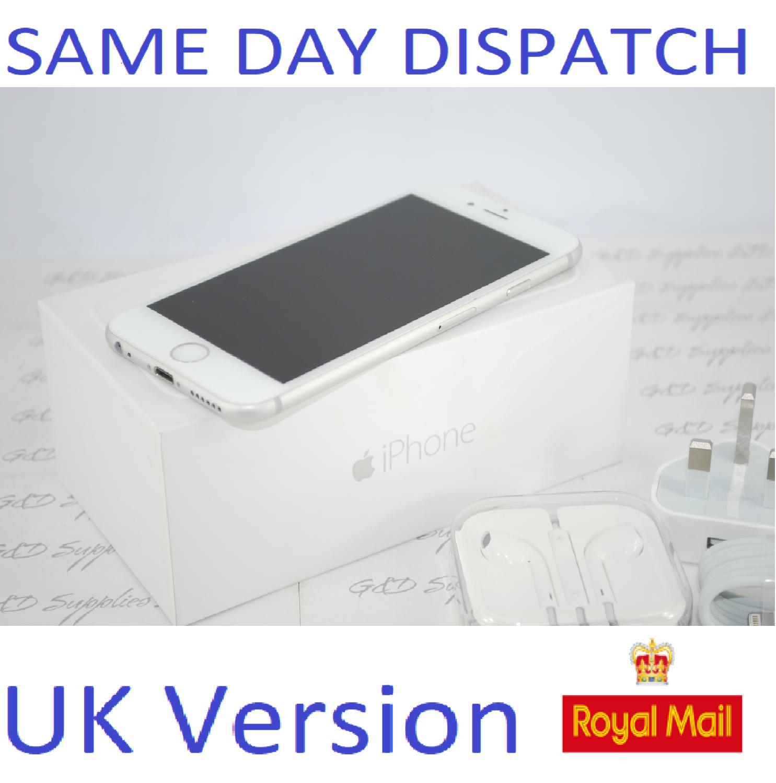 Apple iPhone 6 - 64GB  Unlocked SILVER SIM Free UK Version NEW Condition #