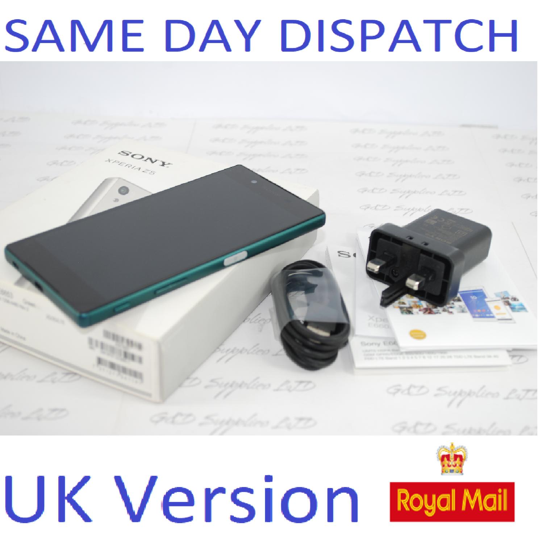 Sony Xperia Z5 E6653 - 32GB - Green  (Unlocked) Smartphone UK STOCK #