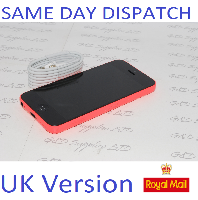 Apple iPhone 5C 8GB  Pink Unlocked SIM Free UK Version NEW Condition NO BOX