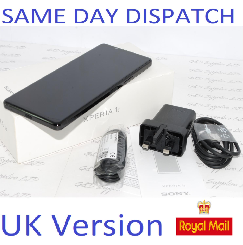 SONY Xperia 1 II 256GB Black  256GB 8GB 5G RAM UNLOCKED uk version #