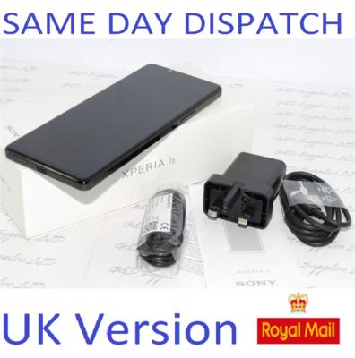 New SONY Xperia 1 II 256GB Black  256GB 8GB 5G RAM UNLOCKED uk version