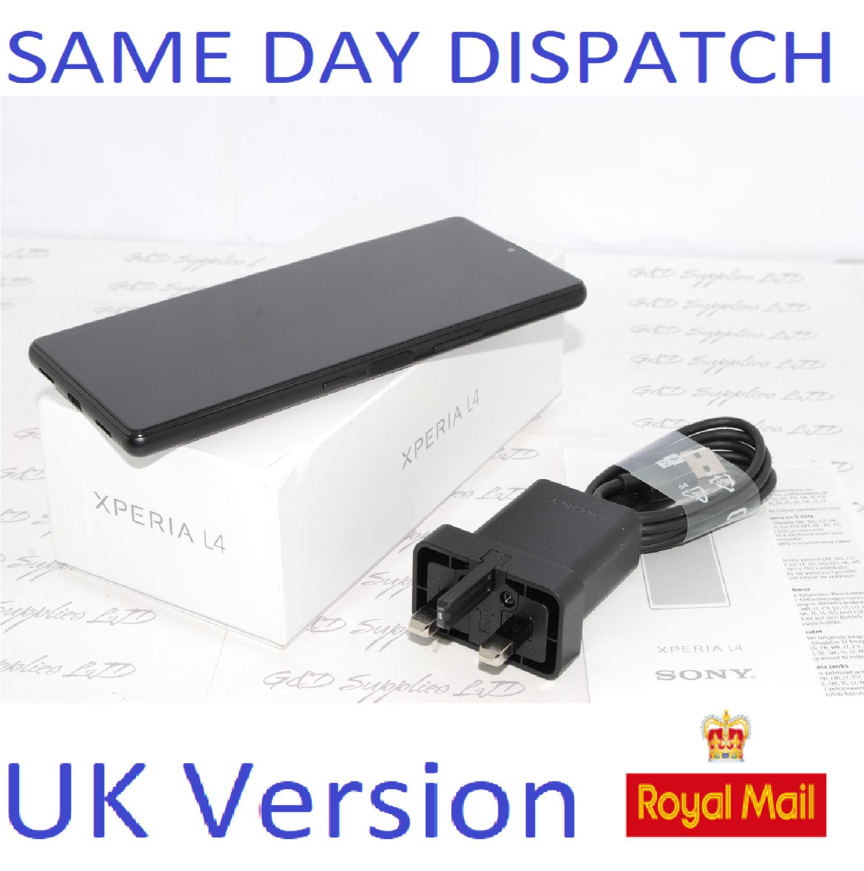 New SONY Xperia L4 64GB Mobile Smartphone unlocked SINGLE SIM  Black UK Version