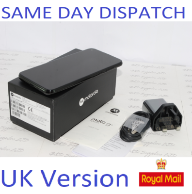MOTOROLA Moto G8 Power 64GB unlocked Dual-Sim XT2041-3 BLACK UK version #