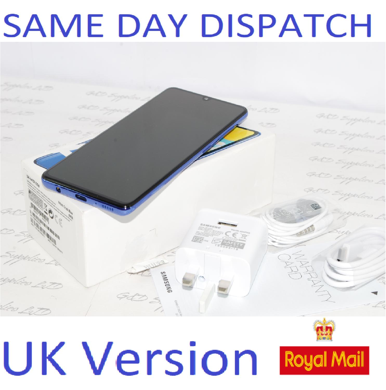 Samsung Galaxy A41 SM-A415F/DS - 64GB Prism Crush Blue Unlocked Dual SIM UK Version #