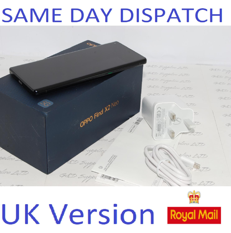 OPPO FIND X2 NEO 5G 256GB  12GB RAM black CPH2009 Unlocked  UK version #