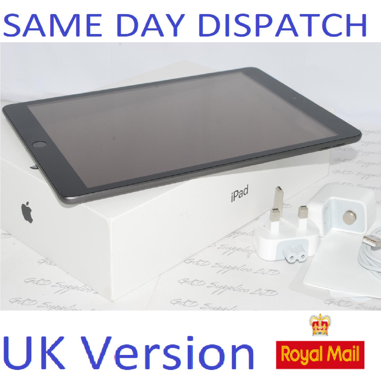 Apple iPad 7th Gen. 32GB, Wi-Fi, 10.2 MW742BA Gray UK Version #