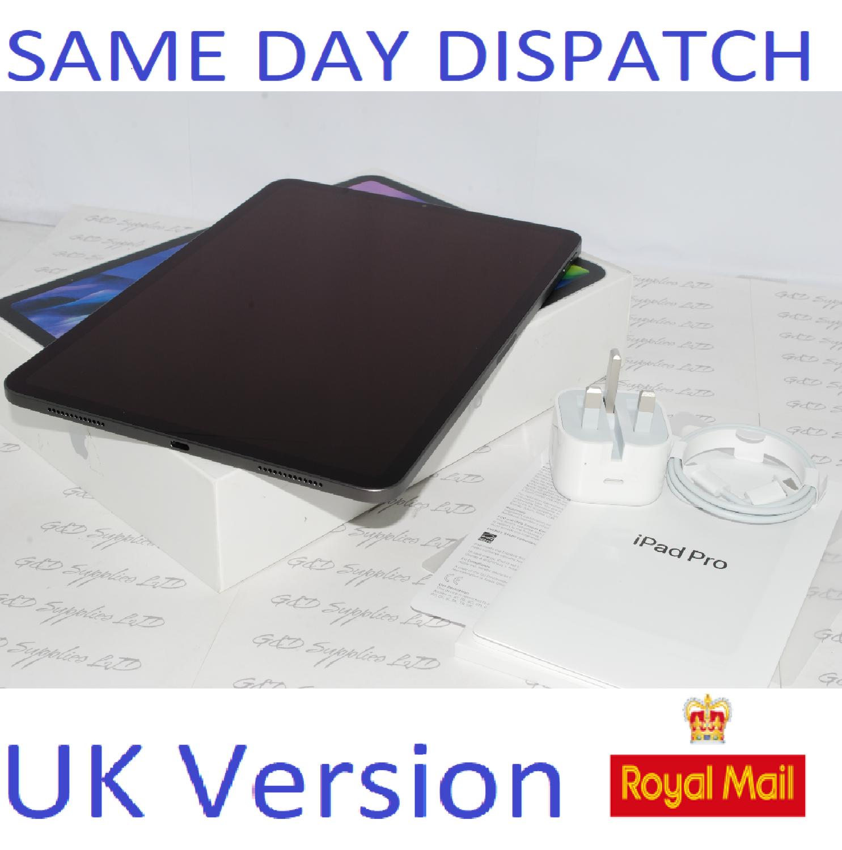 Apple iPad Pro 11. 2nd Gen 256GB, Cellular 4G Unlocked (2020 ) Space Grey MXE42B/A UK Version #