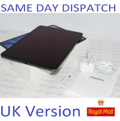 Apple iPad Pro 11. 2nd Gen 512GB, Wi-Fi, 11 in - Space Grey MY232B/A UK Version #