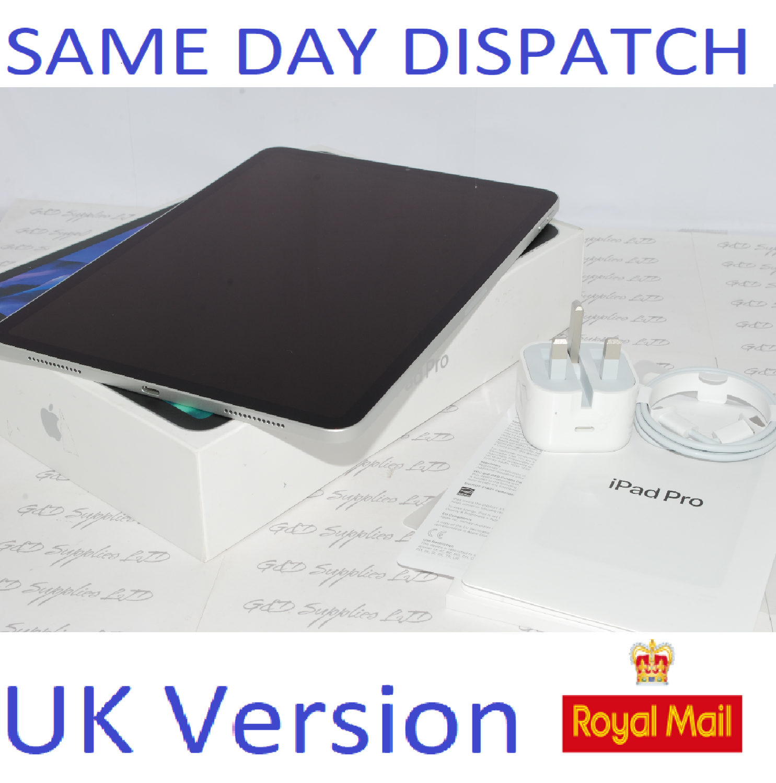 Apple iPad Pro 11. 2nd Gen 128GB, Wi-Fi, 11 in - silver  MY252B/A UK Version #