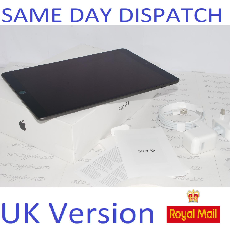 APPLE IPAD AIR (3rd Generation) 64-GB  MUUJ2B/A Gray UK Version #