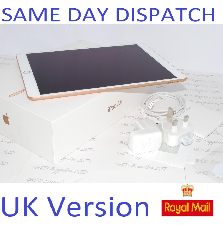 APPLE IPAD AIR (3rd Generation) 64-GB  MUUL2B/A Gold UK Version #