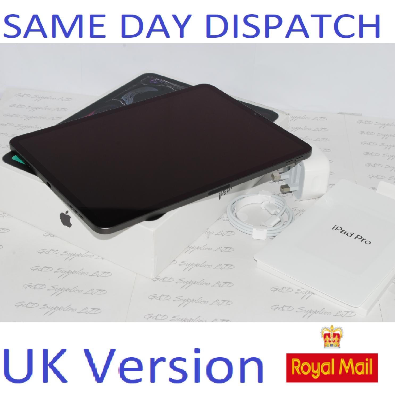 Apple iPad Pro 1st Gen. 64GB, Wi-Fi, 11 in - Space Grey MTXN2B/A UK Version #