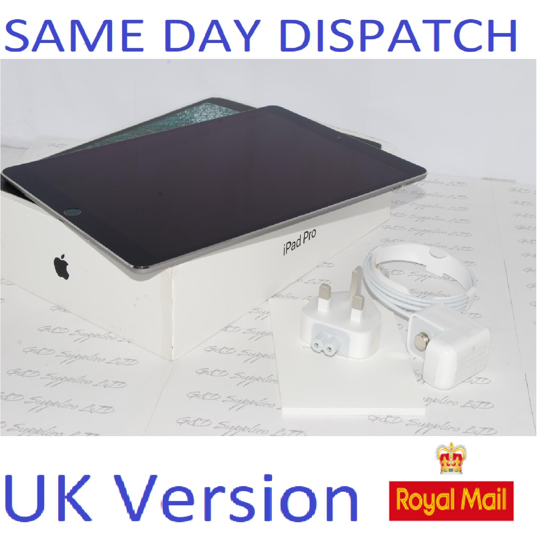 Apple iPad Pro 10.5 inch 256GB (2nd Gen) WiFi iOS MPDY2B/A Space Grey UK Version #