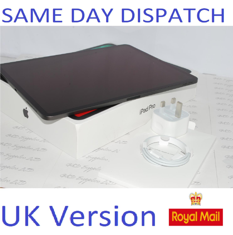 "APPLE 12.9"" iPad Pro (2020) 4th Gen 256GB Space Grey MXAT2BA UK Version #"