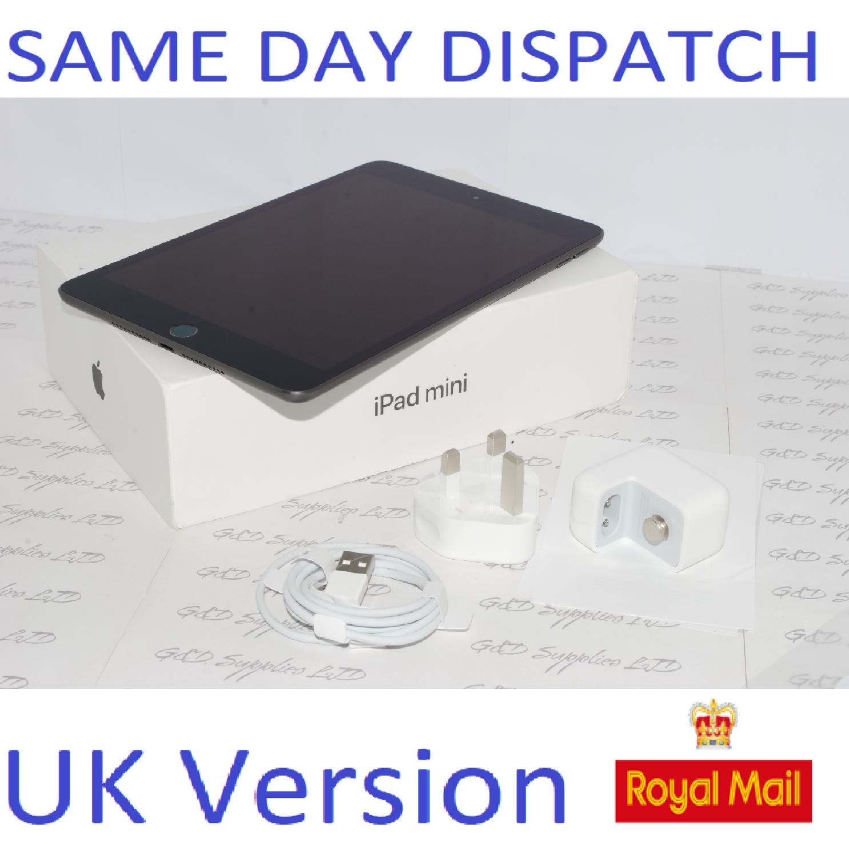 "APPLE 7.9"" iPad mini 5th Generation  64GB Space Grey MUQW2B/A  UK Version #"