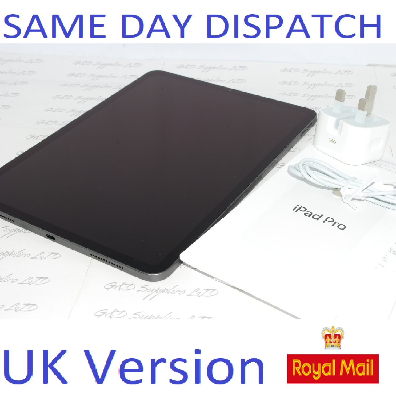 APPLE iPad Pro 11 inch WiFi 512GB  Space Grey MTXT2B/A UK Version #