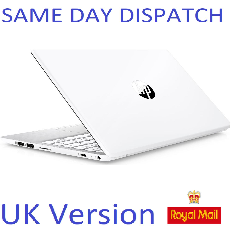 """HP Stream 11-ak0502sa 11.6"""" Laptop Intel Dual Core, white Notebook UK Stock"""