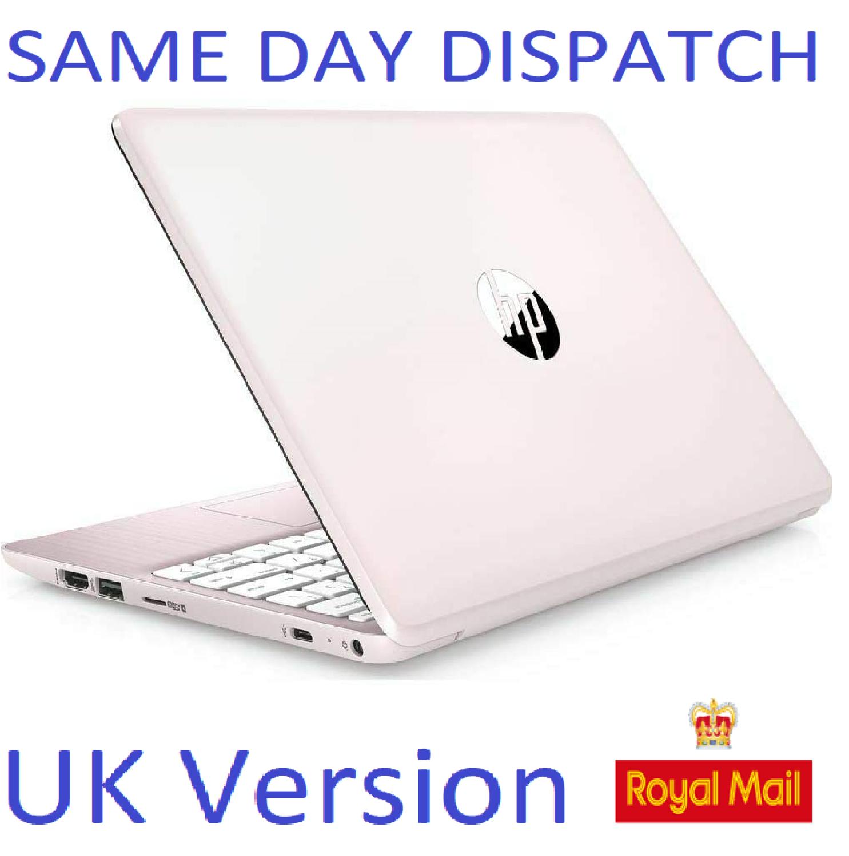 "HP Stream 11-ak0500sa 11.6"" Laptop Intel Dual Core pink  Notebook UK Stock"