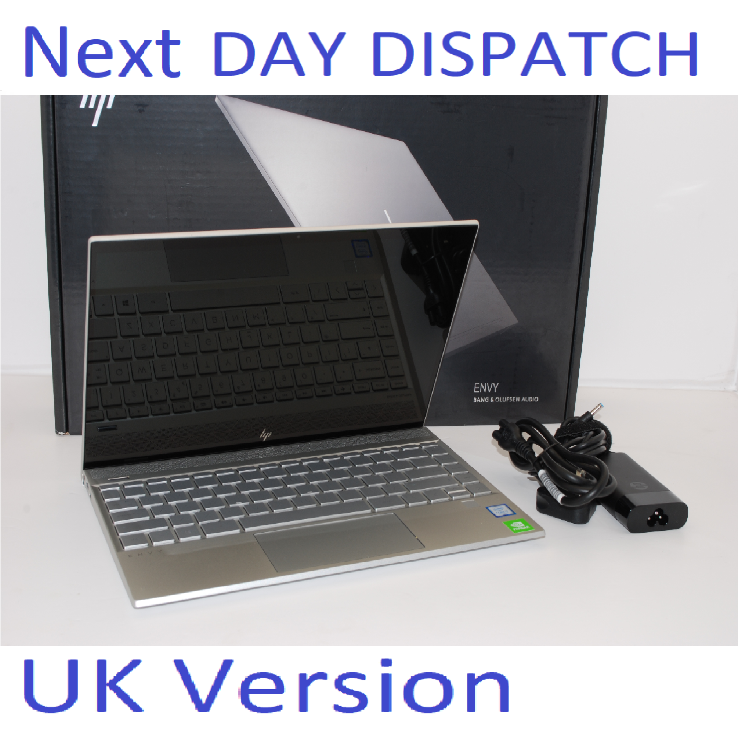 HP ENVY 13-AQ0502SA INTEL i7 8TH GEN 8565U 1.8GHz 8GB RAM 512GB SSD TOUCHSCREEN UK Stock