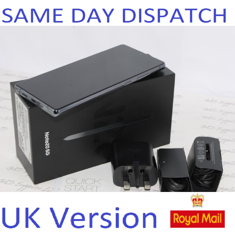 Samsung Note 20 5G 256GB SM-981B/DS Dual Sim unlocked GRAY UK Version #