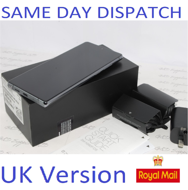 Samsung Note 20 4G 256GB SM-N98OF/DS Dual Sim unlocked GRAY UK Version #