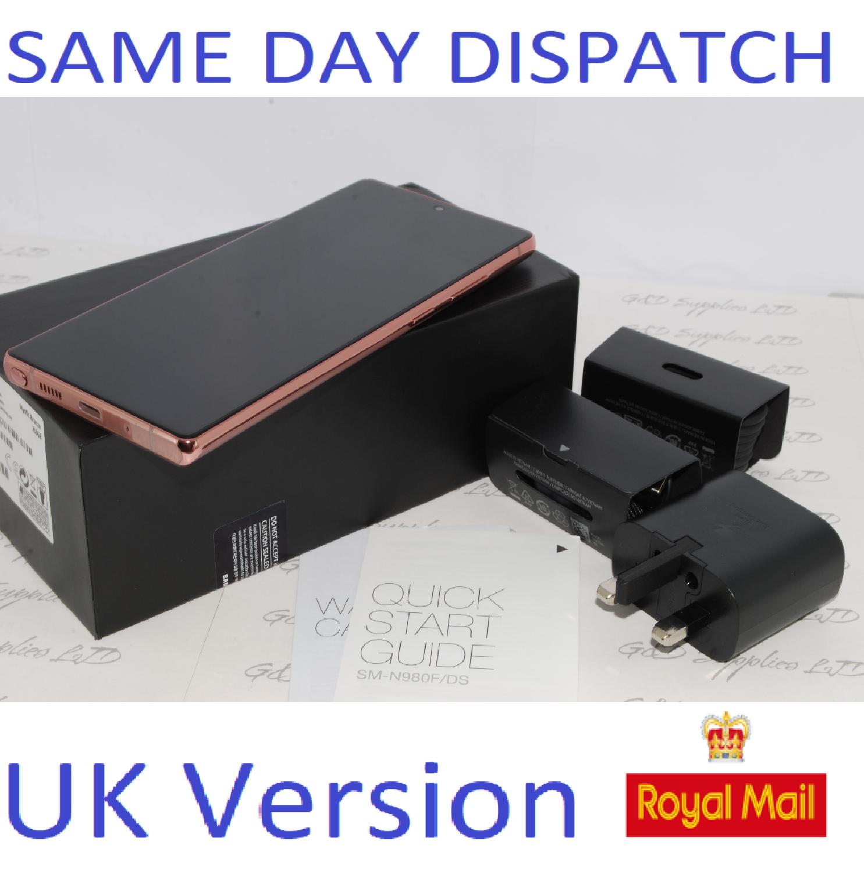Samsung Note 20 4G 256GB SM-N98OF/DS Dual Sim unlocked BRONZE UK Version #