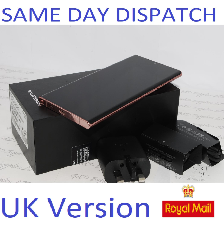 Samsung Note 20 Ultra 5G SM-N986B/DS  256GB  Mystic Bronze UK Version #