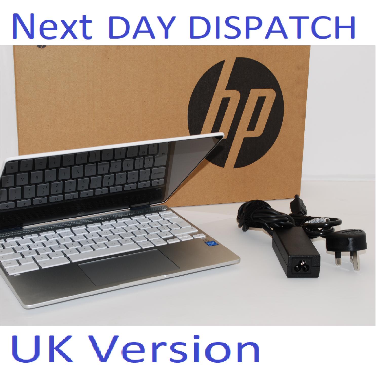 "HP Chromebook x360 12"" Touch Convertible 12b-CA0500SA Laptop 4GB, 64GB UK Stock"