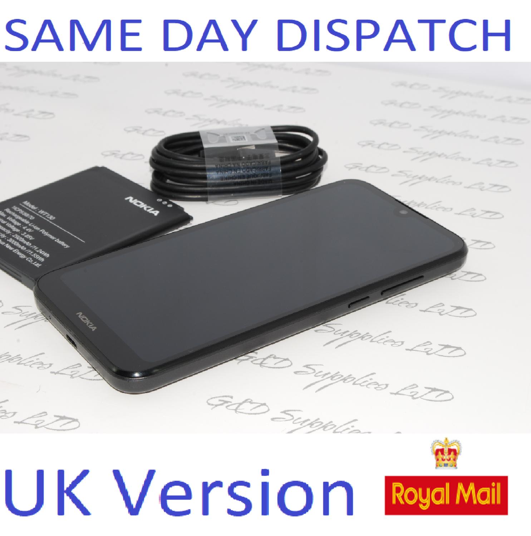 "Nokia 1.3 5.71"" Android Unlocked Smartphone 16GB 8MP Dual Sim UK version NO BOX"