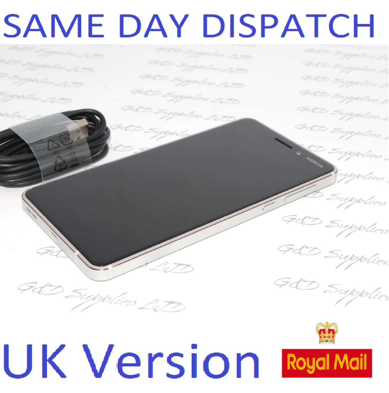 Nokia 6.1 (2018)  32GB, silver touchscreen unlocked Sim-Free UK STOCK 4G  no box #