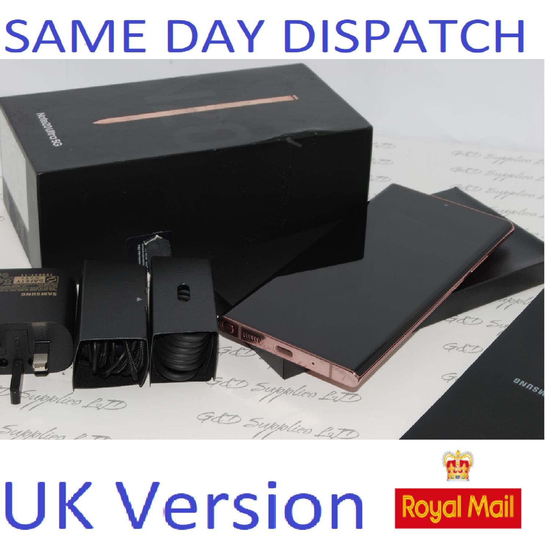Samsung Note 20 Ultra 5G SM-N986B/DS  256GB  Mystic Bronze UK Version ##
