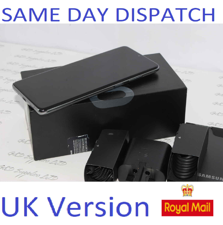 Samsung Galaxy S20 + 5G SM-G986B/DS 128GB 12GB Cosmic Grey Dual Sim unlocked  UK Version ##