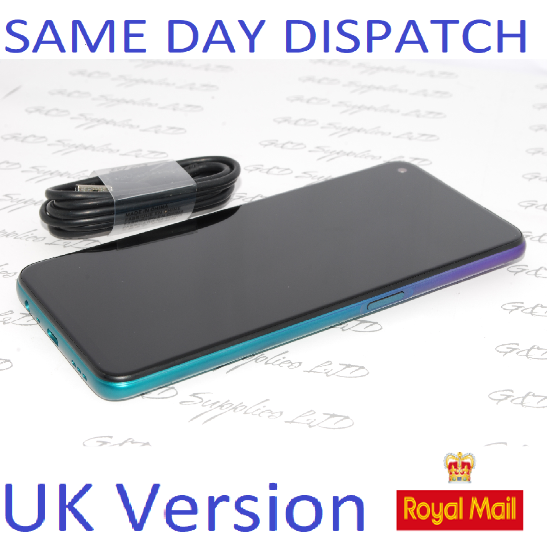 OPPO A72  128GB unlocked Purple CPH2067 Dual-Sim 48MP Camera Sim UK version NO Box
