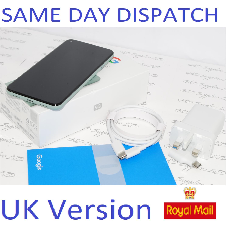 Google Pixel 5 5G (2020) GTT9Q 128GB sage Green Unlocked  UK version #