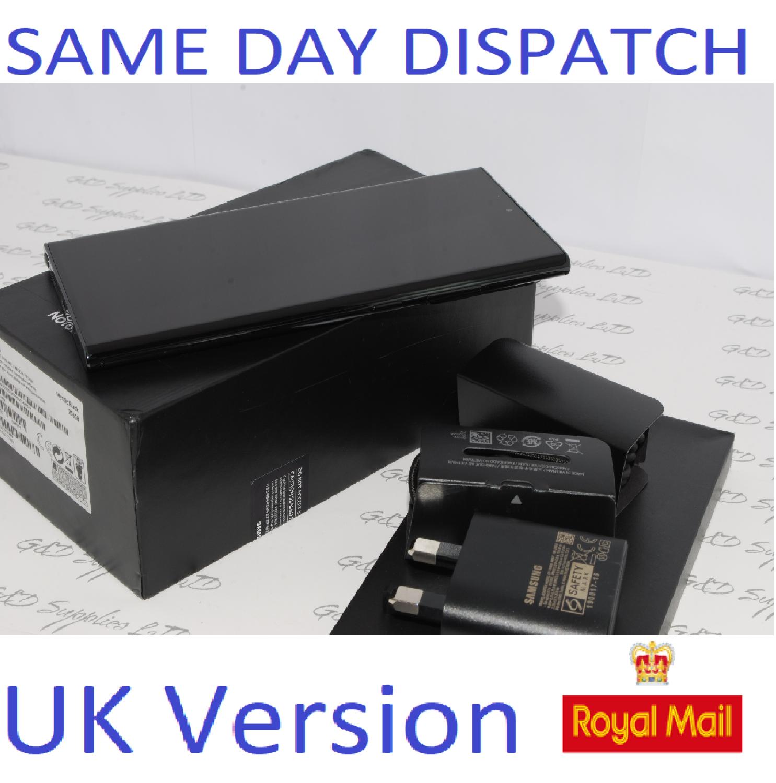 Samsung Note 20 Ultra 5G SM-N986B/DS  256GB  Mystic Black UK Version #