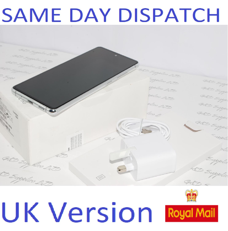 SAMSUNG Galaxy S20 FE 5G SM-G781B/DS unlocked 128GB Cloud white UK Version #