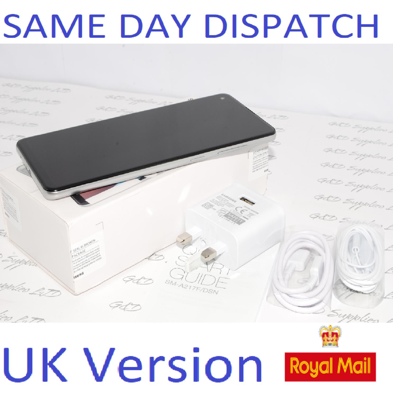 # Samsung Galaxy A21S Unlocked 32GB Dual SIM NFC Smartphone Silver UK Version