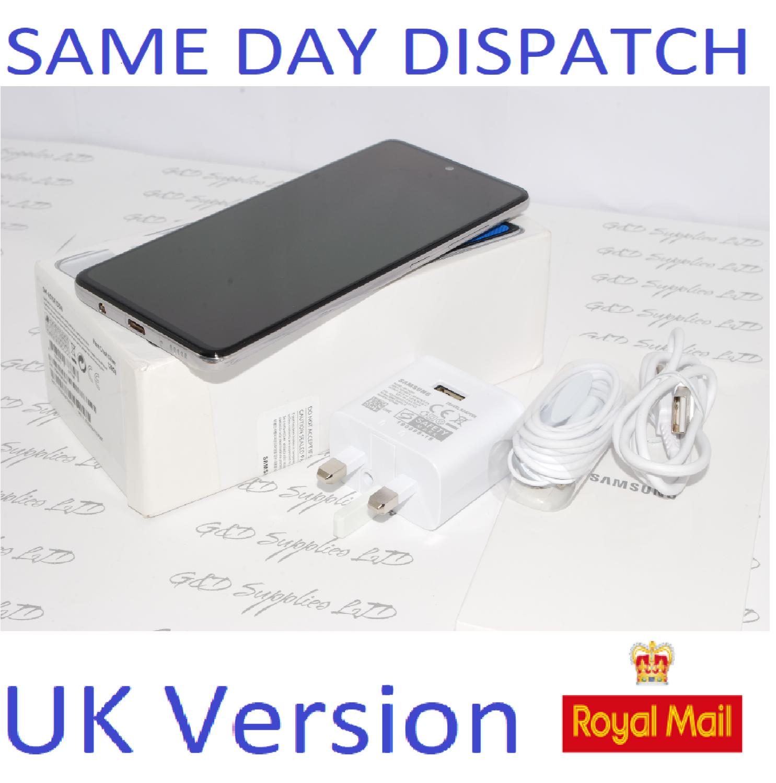 Samsung A51 (SM-A515F/DS) 128GB Haze Crush silver Dual Sim UNLOCKED NFC UK Version # !