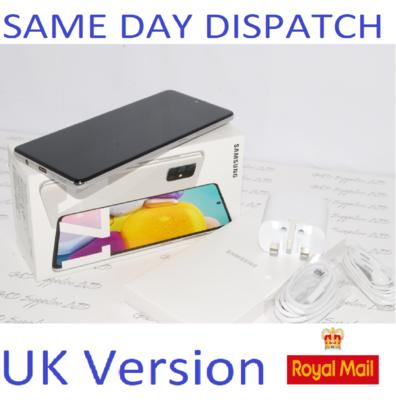 Samsung Galaxy A71 (SM-A715F/DS) - 128GB Haze Crush Silver Dual Sim UNLOCKED  UK Version #