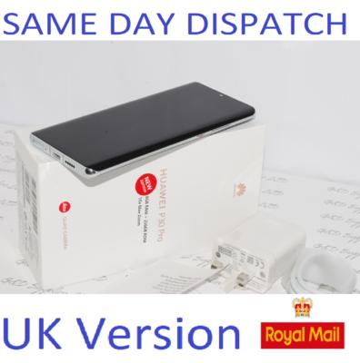 Huawei P30 PRO New Edition  256GB Silver Dual SIM 8GB Sim UNLOCKED UK Version #