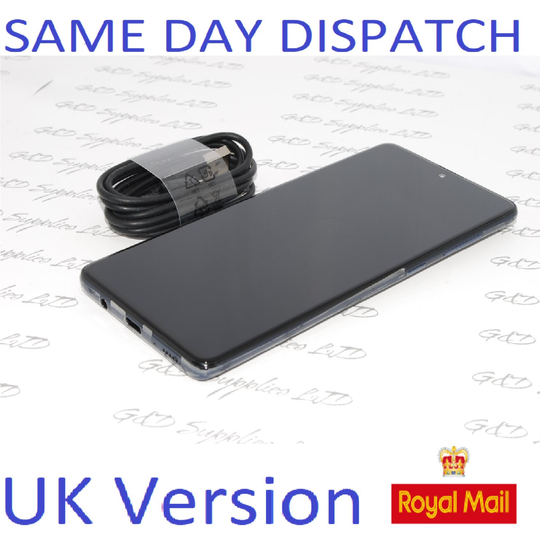Samsung Galaxy A71 (SM-A715F/DS) - 128GB Prism Crush Black Dual Sim UNLOCKED  UK Version NO BOX