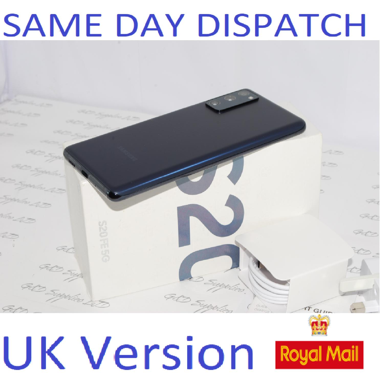 SAMSUNG Galaxy S20 FE 5G SM-G781B/DS unlocked 128GB Cloud Navy EU stock #